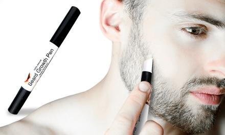 1 o 2 penna per far crescere la barba