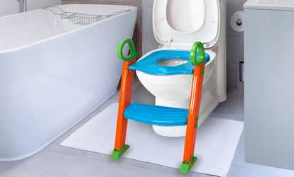 potty chair with ladder vanity for bathroom training deals discounts groupon shop portable folding kids seat step stool