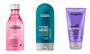 image for L'Oreal Professional Shampoo, Conditioner, Masque, or Oil