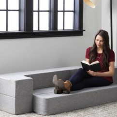 Living Room Mattress Corner Units Up To 47 Off On Convertible Foam Groupon Goods