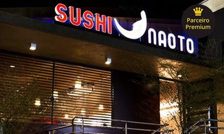 Rodízio para 1, 2 ou 4 pessoas no almoço ou jantar no Naoto Sushi – Osasco