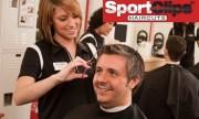 men's haircut - sport