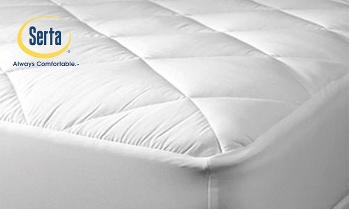 Serta Perfect Sleeper Coolest Comfort Mattress Pad  Groupon