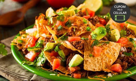 Nachos e/ou quesadilla saltillo + sobremesa no Mucho Gusto Gastronomia – Asa Norte