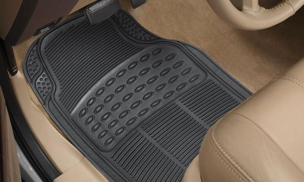4 ou 8 tapis amovibles et impermeables pour voiture xone tank antiderapants