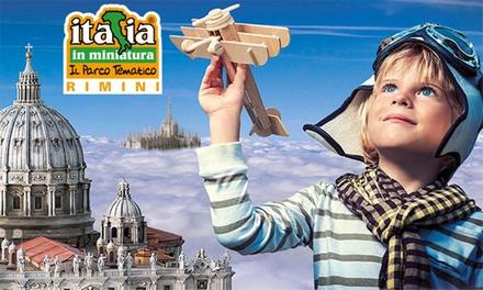 Italia in Miniatura: ingressi open al parco tematico a Rimini (sconto 26%)