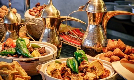 5* Eid Lunch Buffet for One, Two or Four at Khayal Restaurant at 5* Marriott Al Forsan (Up to 55% Off)