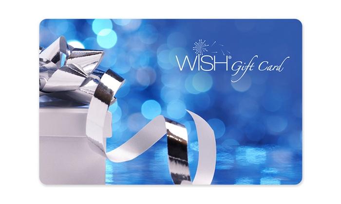 Woolworths WISH EGift Card Groupon