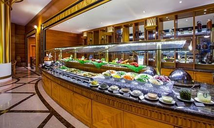 Choice of Buffet with Soft Drinks or House Beverages for Up to Four at Citrus   Corniche Hotel Abu Dhabi (Up to 64% Off)