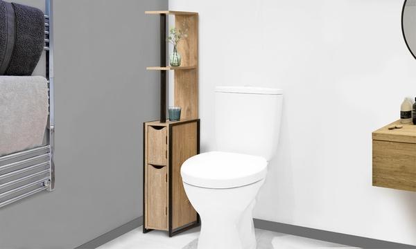 etagere wc avec placard style industriel timeo