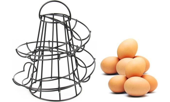Spiral Egg Holder Kitchen Stand