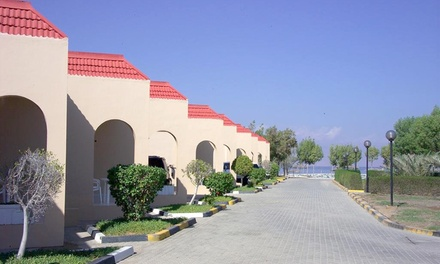 Fujairah: 1 2 Nights for Up to 4 Adults and 2 Children with Half or Full Board at Holiday Beach Resort Fujairah