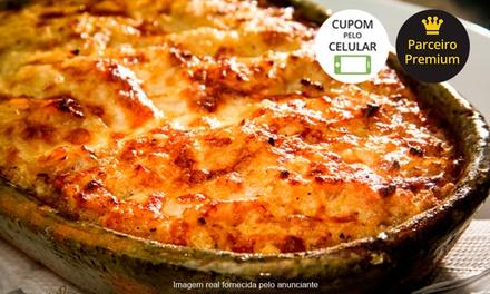 Taberna Portuguesa – Espinheiro: jantar com entrada e sobremesa para 2 pessoas (opção com vinho português)