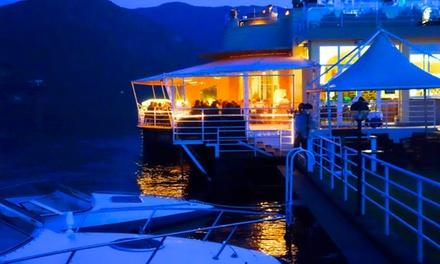 Menu di pesce più bottiglia di vino fino a 6 persone al Lido di Cadenabbia, lago di Como (sconto fino a 65%)