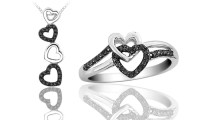 Heart-Shaped Promise Ring or Necklace | Groupon