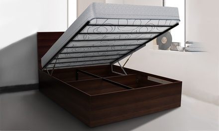 Storage Or Gas Lift Bed Frame Groupon Goods