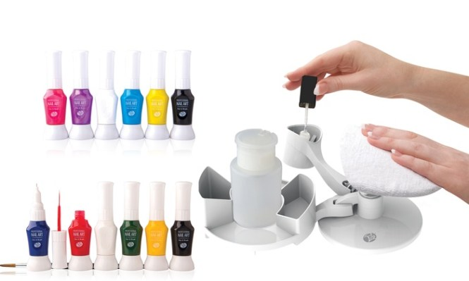 Rio Airbrush Nails Kit From