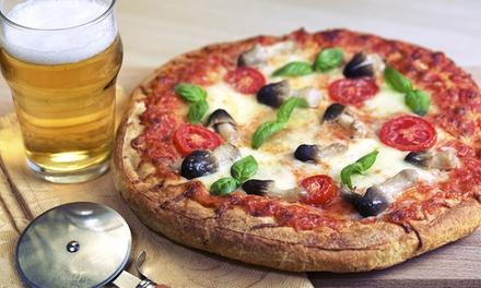 Menu pizza e birra per 2 o 4 persone al Ristorante Pizzeria Pinguino, Pescara centro (sconto fino a 57%)