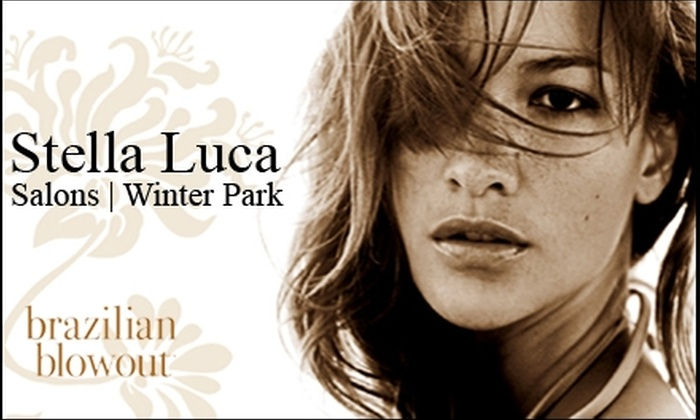149 for a brazilian blowout at stella luca up to 325 value