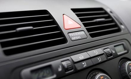 Galaxy Lube – Carlos Prates: higienização de ar condicionado, filtro de cabine e revisão de 14 itens (opção com Militec)