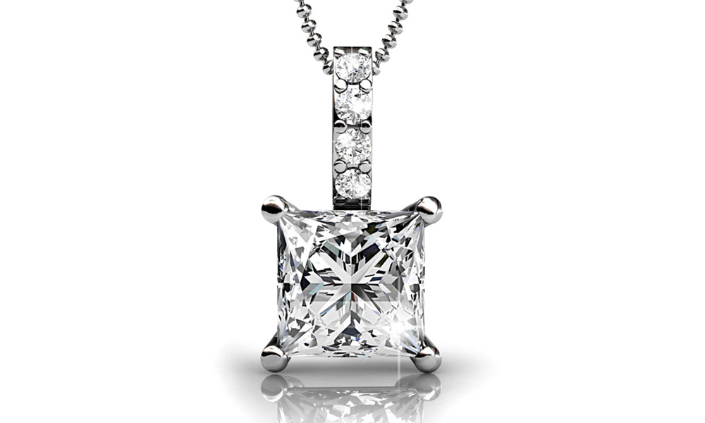Up to 84% Off 18K White Gold Plated Jewellery made with