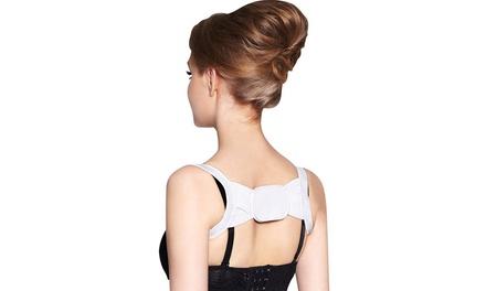 Fasce di sostegno posturali regolabili ed elasticizzate a farfalla per donna