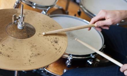 Big Drummer – Asa Norte: 1, 3 ou 6 meses de aulas de bateria com matrícula inclusa