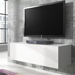 Living Room Ideas On A Small Budget Most Popular Paint Colors For Rooms Floating Gloss Tv Cabinet | Groupon Goods