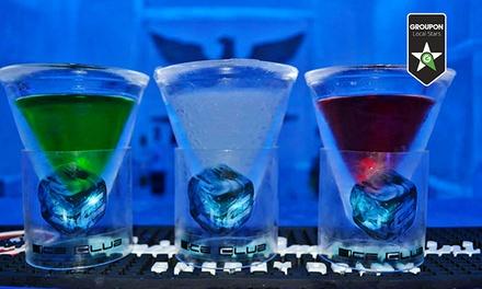 Ingresso per 2 persone da Ice Club con 2 cocktail a testa al Rione Monti