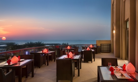 Up to AED 1000 Toward Asian Food and Drinks at Dragons Place at The Bahi Ajman Palace (Up to 50% Off)
