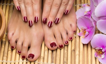 Image Placeholder For 25 46 Worth Of Mani Pedi The Strong Nail