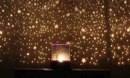 Fino a 3 lampade Star Master a LED con effetto cielo stellato