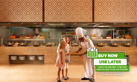 Buy Now Use Later! Weekend Lunch or Weekday Dinner with Drinks at Flow Kitchen at 5* Fairmont The Palm (31% Off*)