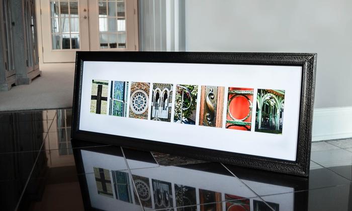 frame the alphabet