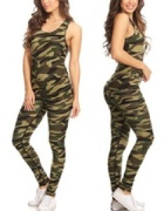Shop groupon women   camouflage tank and leggings set piece also pants size chart fit guide rh