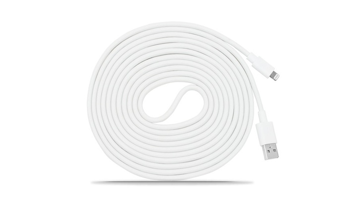 10ft. Apple-Certified Lightning Cable (1-, 2-, or 3-Pack