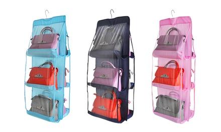 Fino a 3 porta borse appendibili disponibili in 3 colori