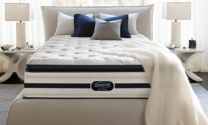 Simmons Manufacturing Co Llc Closeout Beautyrest Recharge Ultra Luxury Firm Pillow Top