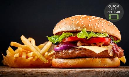 Hambúrguer + fritas para 1, 2 ou 4 pessoas na Oficina 21 Bar E Burger   Butantã