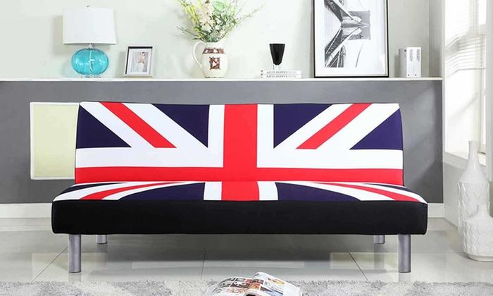 sofas n more nz violet sofa bed union jack | groupon
