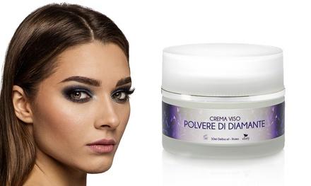 Fino a 3 creme viso polvere di diamante Efory Cosmetics 50 ml