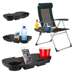 Camping Chairs With Side Table Kingcamp Folding Quad Chair Clip On Groupon Goods