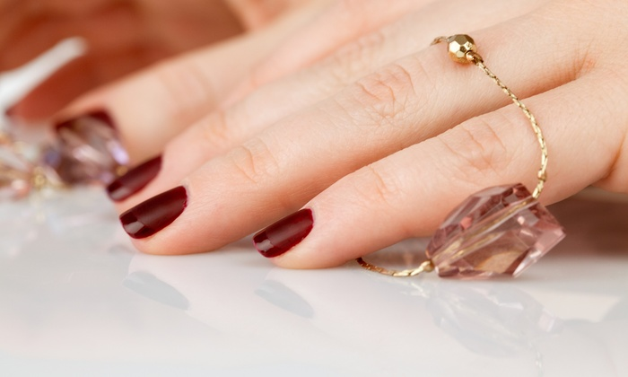 Shura Nails Sydney Gel Manicure 25 Or Pedicure With