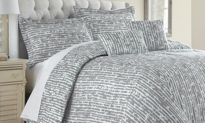 Reversible Comforter Set 6pc  Groupon Goods