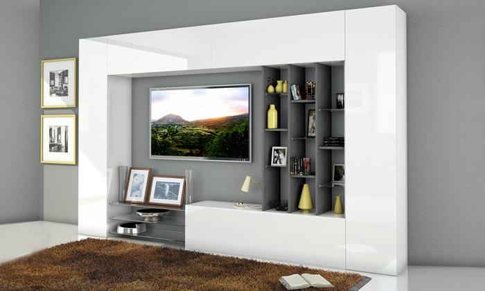 Mobili da parete per soggiorno  Groupon Goods