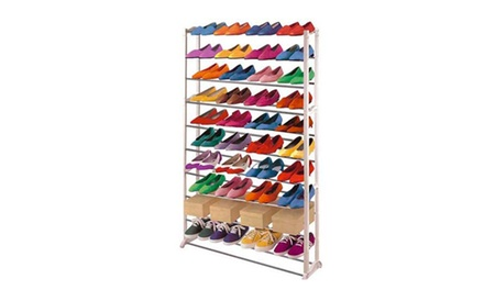 Scarpiera a scaffale per riporre fino a 40 paia di calzature