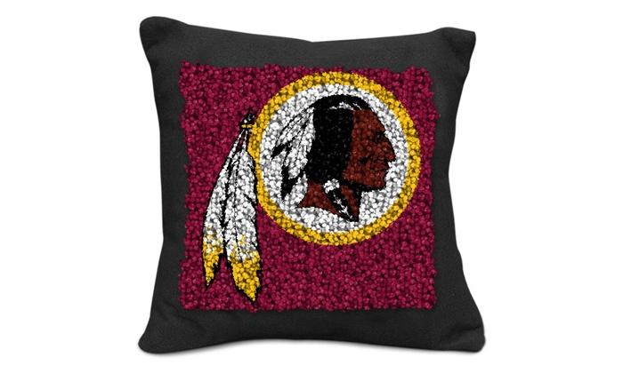 NFL Latch Hook PillowMaking Kit  Groupon