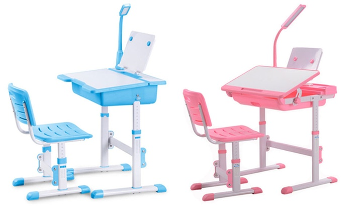 desk chair groupon gray dining chairs trend matters kids' study   goods