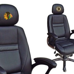 Desk Chair Groupon Fishing With Umbrella Holder Nhl Leather Office Chairs Goods