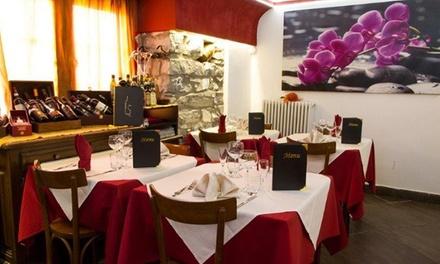 Menu pesce da 4 portate con calice di vino al ristorante I Tre Mori, Como (sconto fino a 65%)